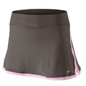 Nike Brown Pink Border Skirt Skort Size L